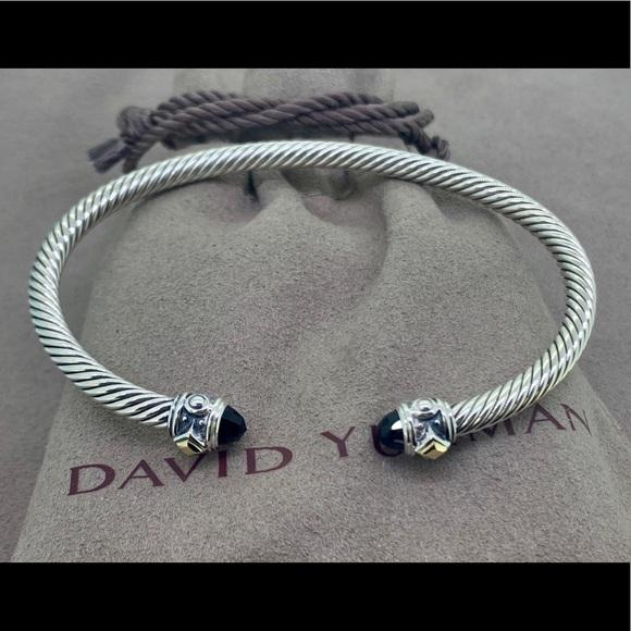 c264d2cb2f1b3 David Yurman Renaissance Bracelet with Black Onyx